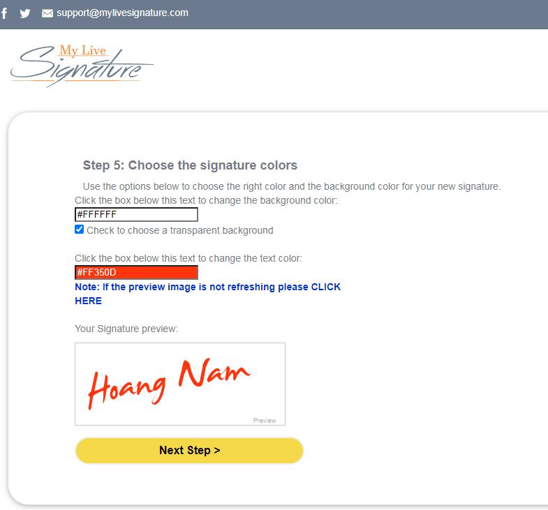 Hướng dẫn tạo chữ ký online