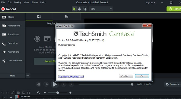 Tổng hợp Key Camtasia 9
