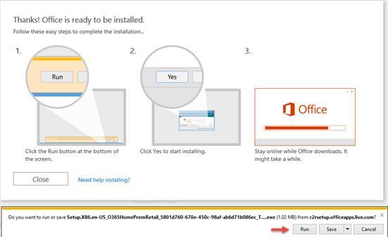 Hướng dẫn nhập Key Office 365