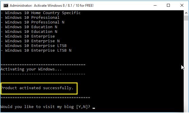 Key Win 10 - Hướng dẫn kích hoạt Windows
