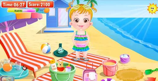 Trò chơi bé na đi tắm biển