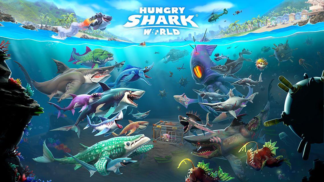 Hungry Shark World Hack 1