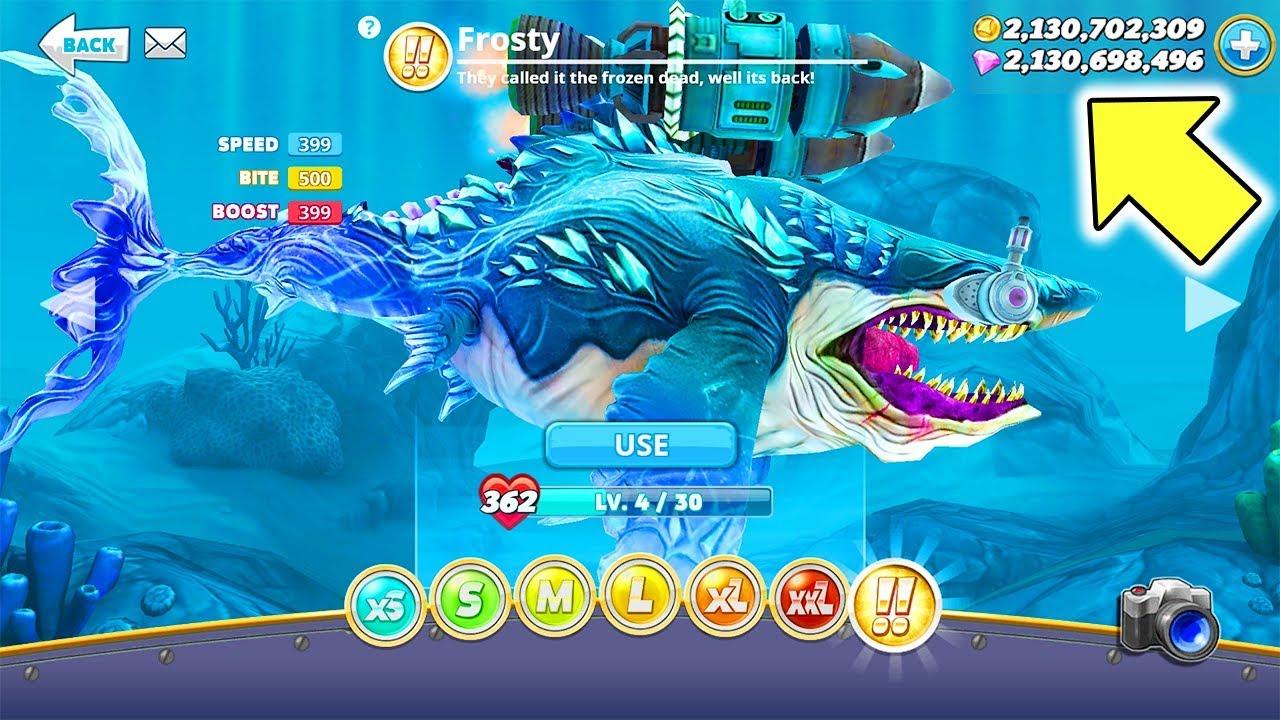 Hungry Shark World Hack 3