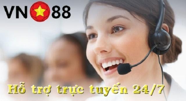 VN88 hỗ trợ trực tuyến 24/7